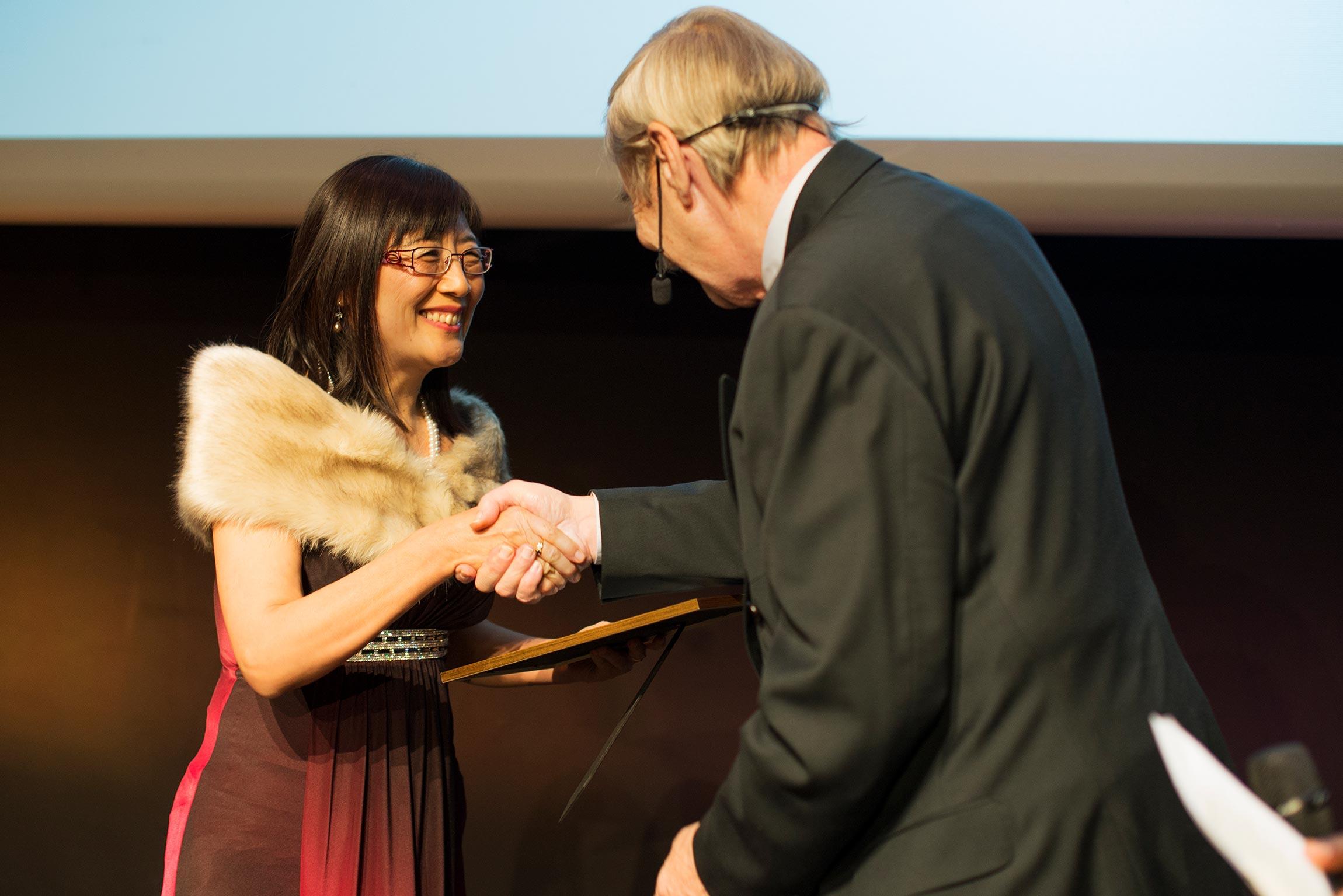 The SKAPA Award winner Tongyun Shen | Photo: Elise Florman